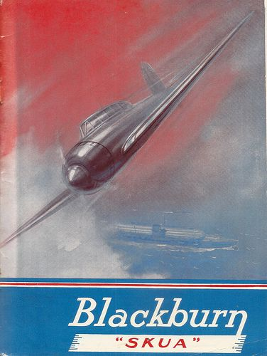 "Blackburn ""Skua"" advert, from the Empire Air Day Programme - 1938"