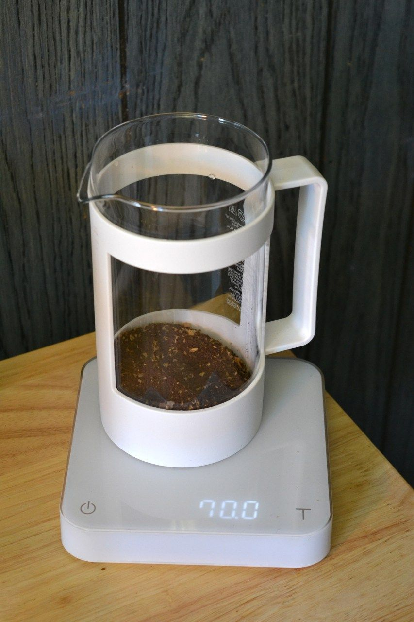 How to Make Cold Brew Coffee with a French Press Making
