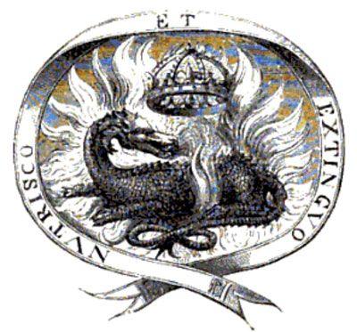 Le Roi François 1er ne l'avait pas choisi par hasard pour emblème. En effet, la Salamandre associée au Feu est une survivante et la devise de son emblème est : « nutrisco et exstinguo » qui signifie littéralement « je le nourris et je l'éteins (le feu) » que l'on peut traduire par « je nourris le bon feu et j'éteins le mauvais ». https://www.facebook.com/ErinelleVoyance/photos/a.252275578452078.1073741828.245630855783217/312664842413151/?type=3&theater