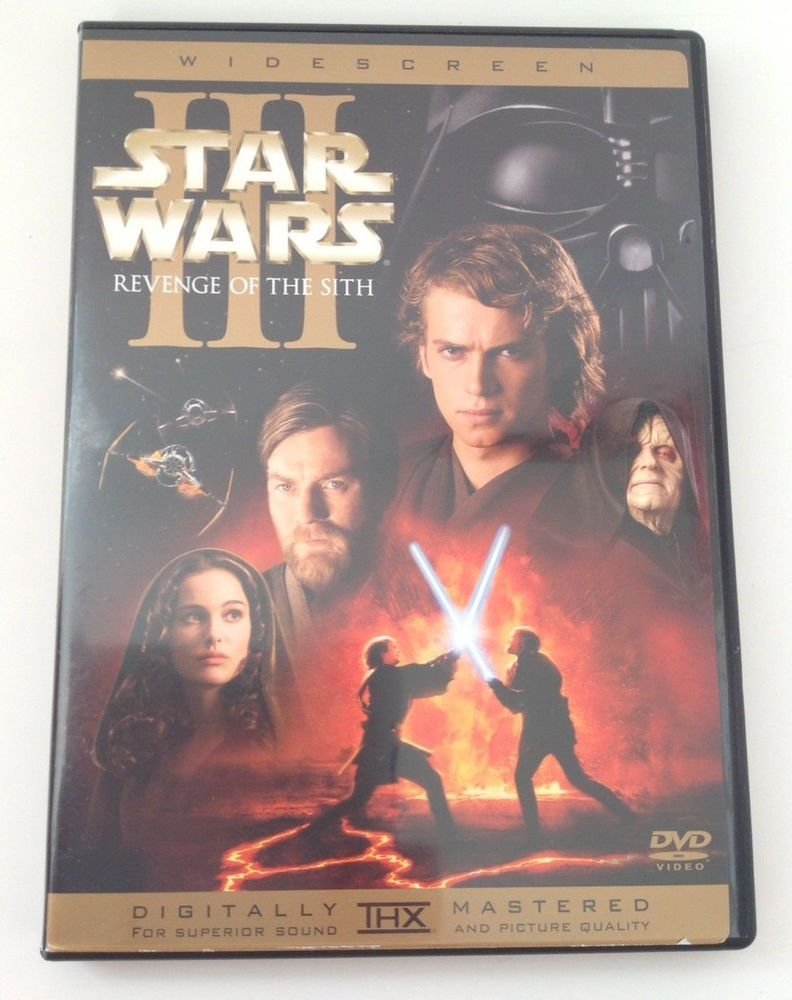 Star Wars Episode Iii Revenge Of The Sith Dvd Widescreen 2 Disc Star Wars Episodes Dvd Movies New Star Wars