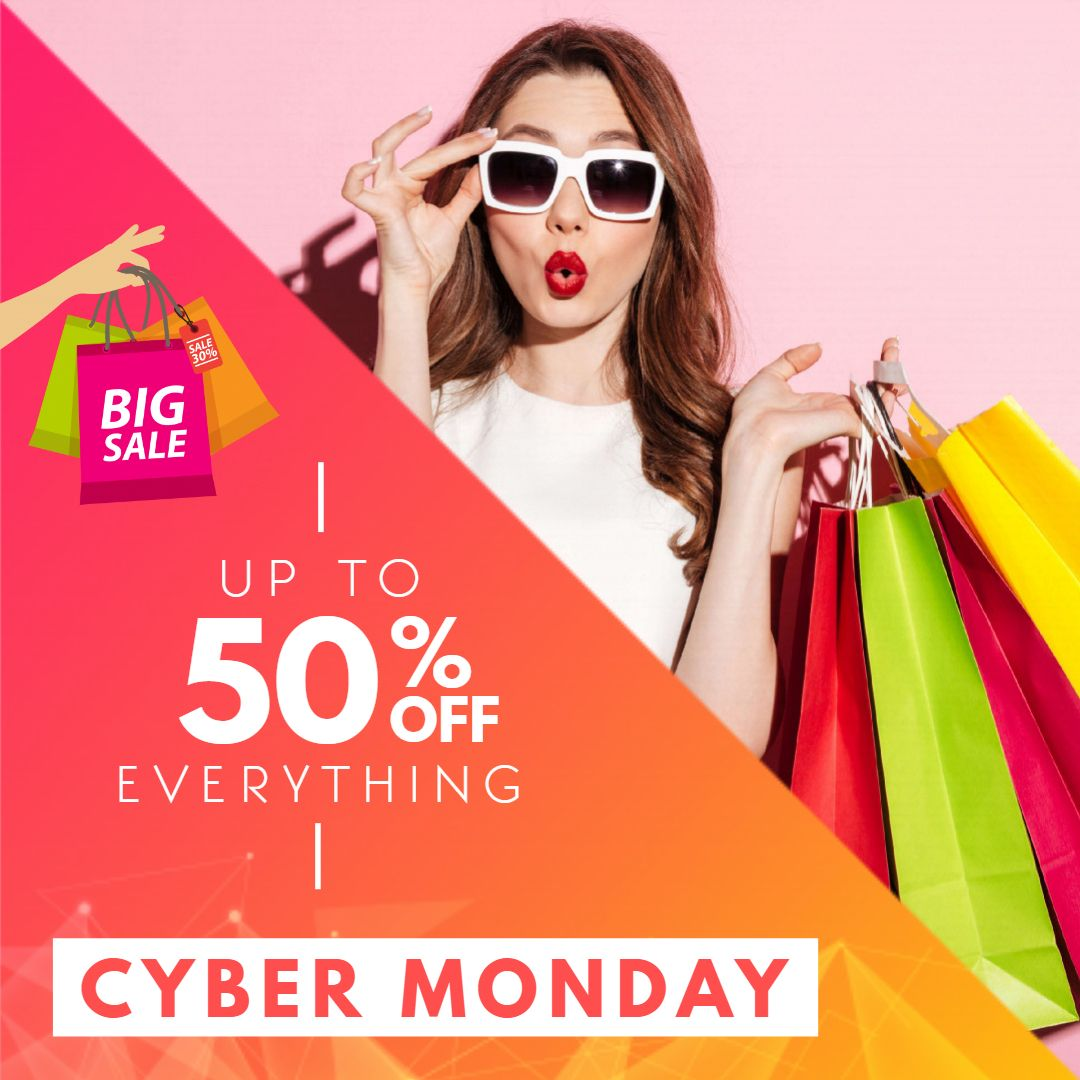 Cyber Monday Clothes Sale Ad | Black friday advertising ...