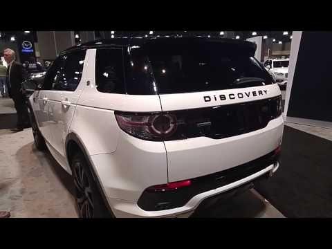 2017 Land Rover Discovery Sport Hse Luxury Exterior Interior Walkaround 2016 La Auto S Land Rover Discovery Sport Discovery Sport Hse Land Rover Discovery