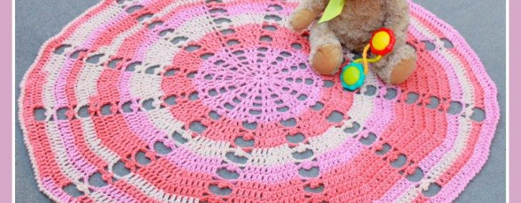 Sugar Wheel Baby Blanket… Free Crochet Pattern!!