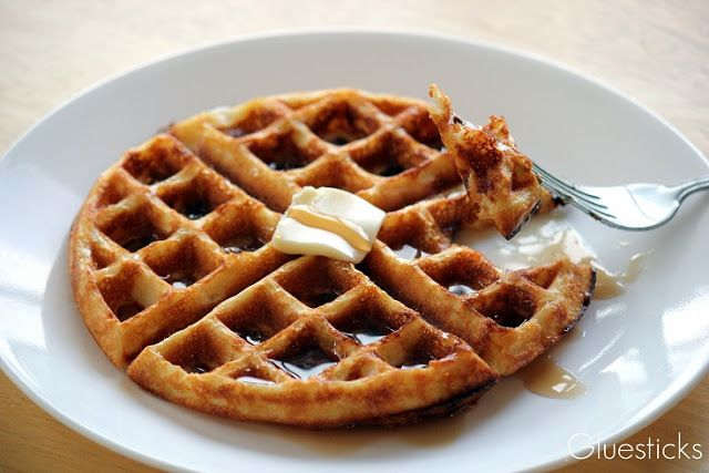 how to make crispy waffles in a waffle maker