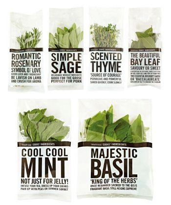 Herb Packaging #packaging #design #creative #ideas #inspiration #JablonskiMarketing