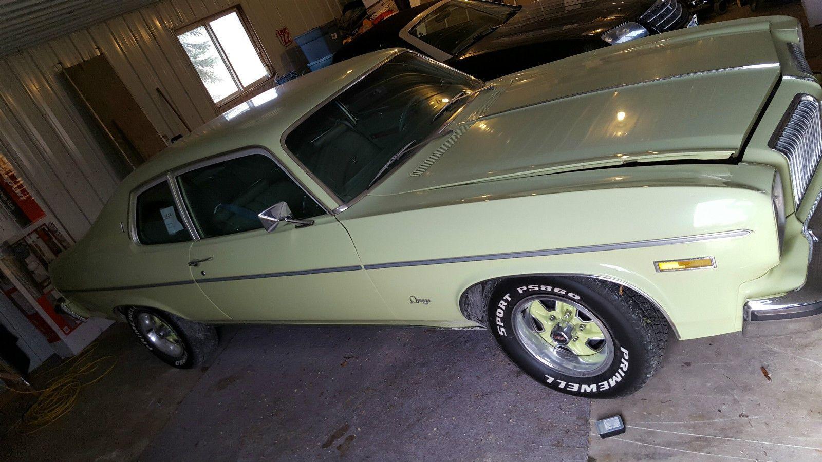 Yup Its Green 1974 Oldsmobile Omega