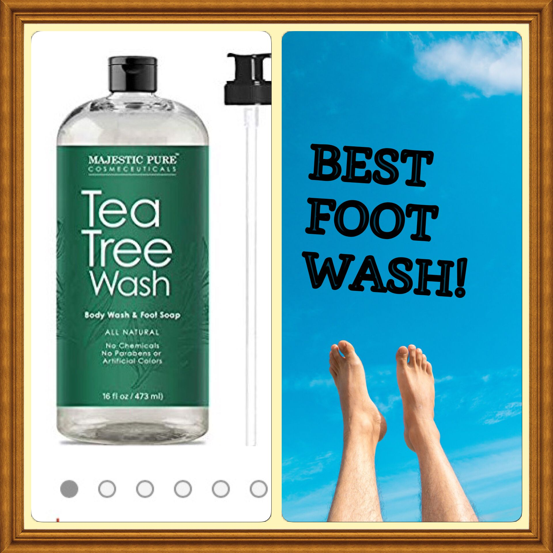 This is the best foot wash ever!naturalproductsbeauty