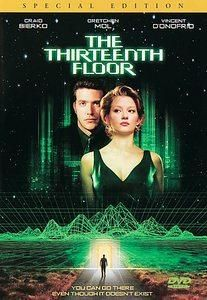 The 13th Floor Special Edition Brand New Widescreen Dvd With Images Thirteenth Floor Inspirational Movies Movie Releases