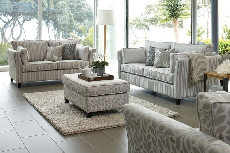 Vienna 2 Piece Fabric Lounge Suite By Evan John Philp