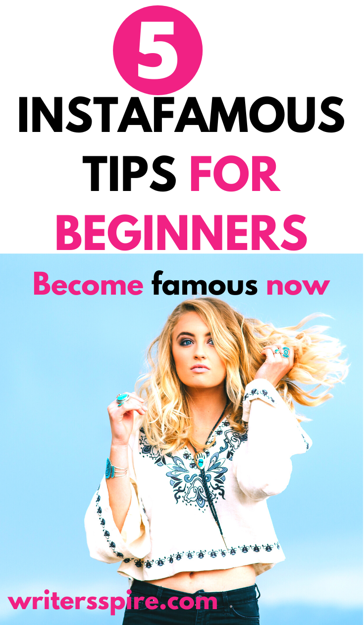 These exclusive Instafamous tips for beginners will help you become one of the leading instafamous for brands.  #socialmedia #workfromhome #instagram