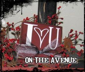 Valentine's Day Blocks - 4X5 - $5.00 www.ontheavenuelogan.blogspot.com
