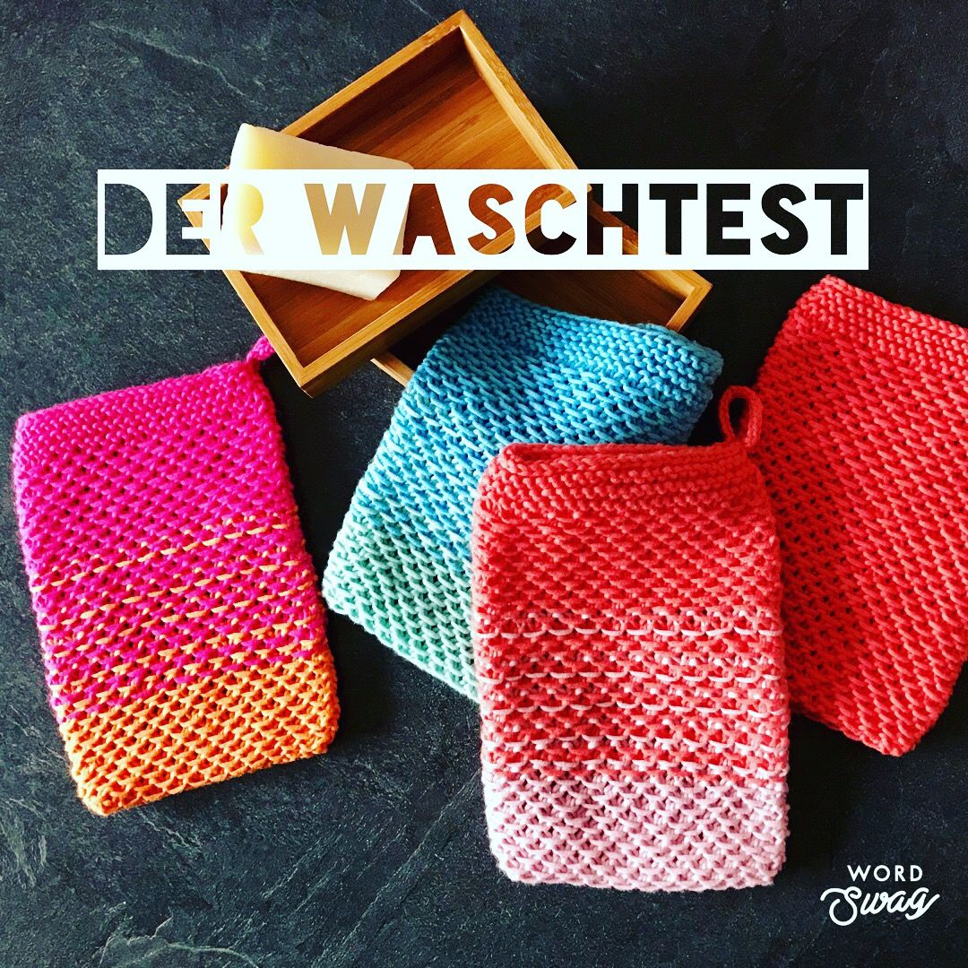 Photo of Waschhandschuhe stricken