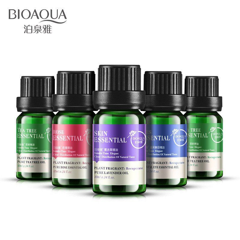 100% Pure Lavender Rose Tea Tree Beauty Eyes Compound Essential Oils Plant Hydrating Oil-control Contractive Pore Spa Skin Care