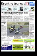 Het Drenthe Journaal is dé huis-aan-huiskrant in de gemeenten Assen en Aa en Hunze en wordt ook verspreid in gedeeltes van gemeenten Noordenveld, Tynaarlo en Midden-Drenthe. Deze gratis krant verschijnt elke donderdag huis-aan-huis en biedt lokaal en regionaal nieuws.    Het Drenthe Journaal is nu ook op iPad te downloaden en lezen via Tablisto.