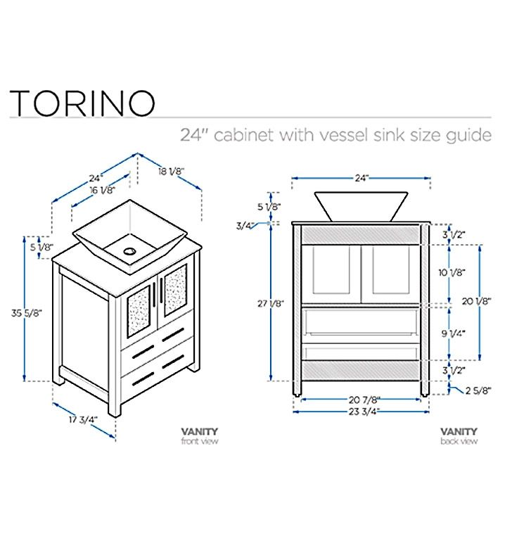 Bathroom Cabinets Dimensions - talentneeds.com