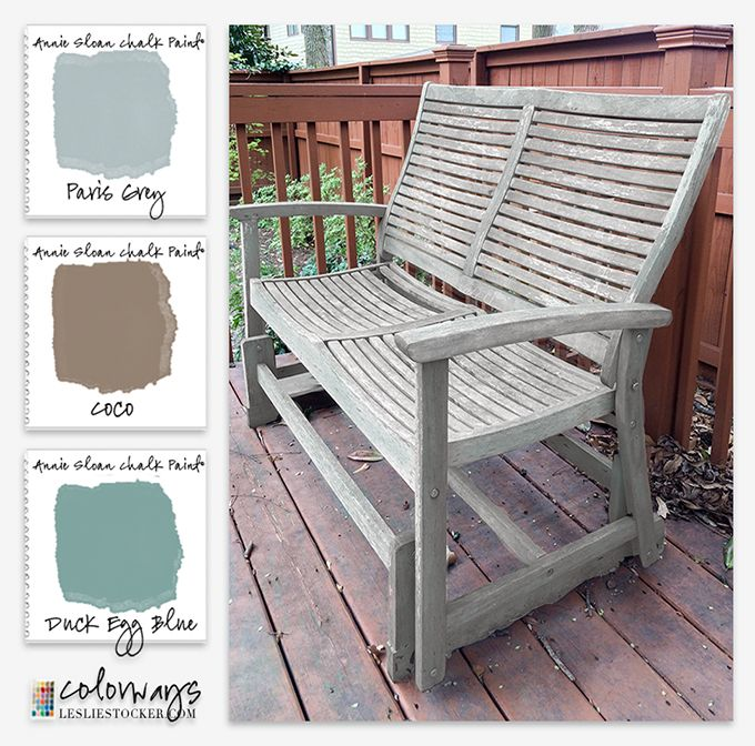 Going Coastal Gray Painting Patio, How To Use Chalk Paint On Outdoor Furniture