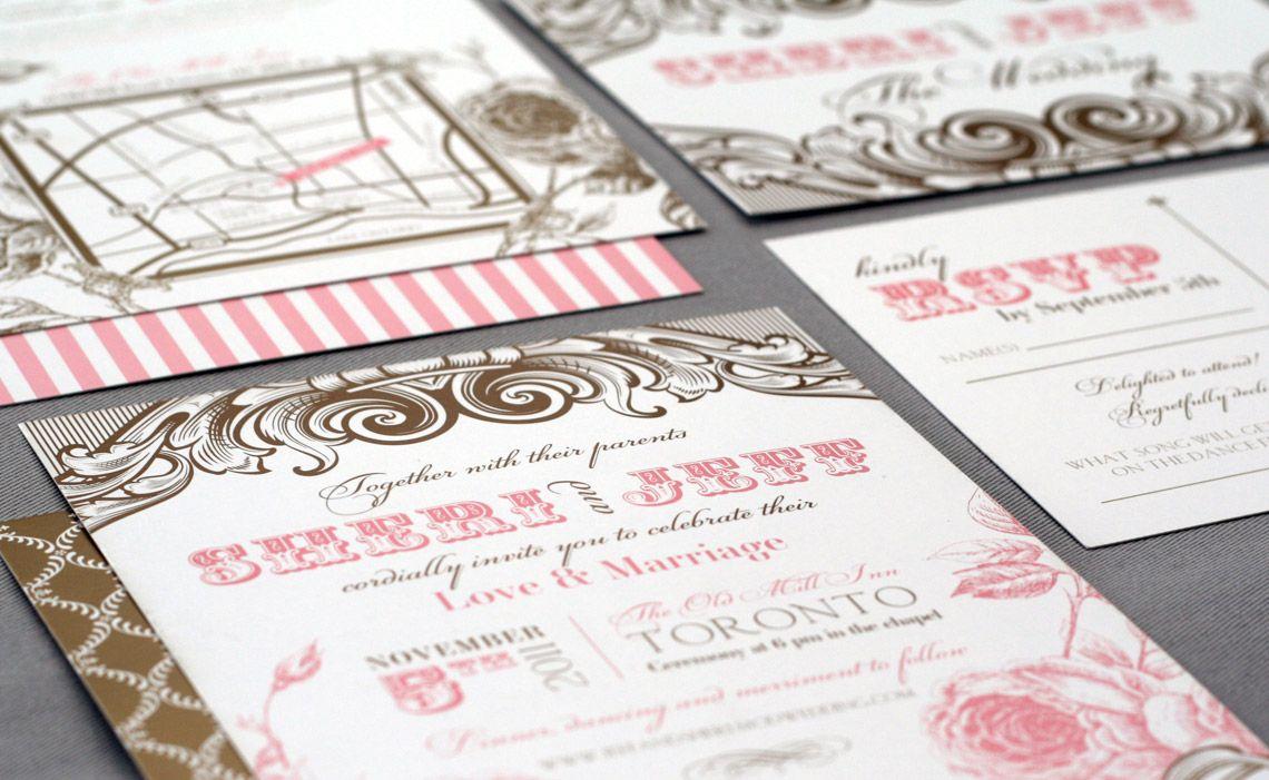 http://www.ooxx.ca/ wedding invitations | paper love + type ...