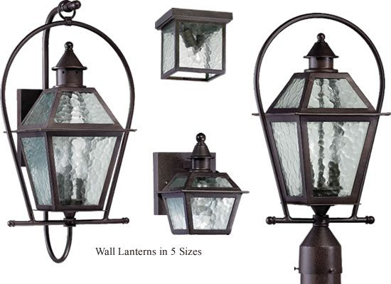 Quorum International Bourbon Street Outdoor Lanterns