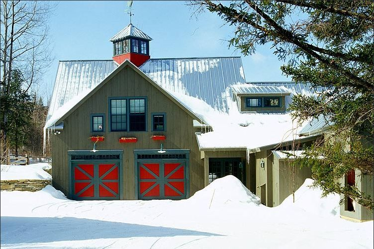 A Barn With A Weathervane How Cool Is That House Green