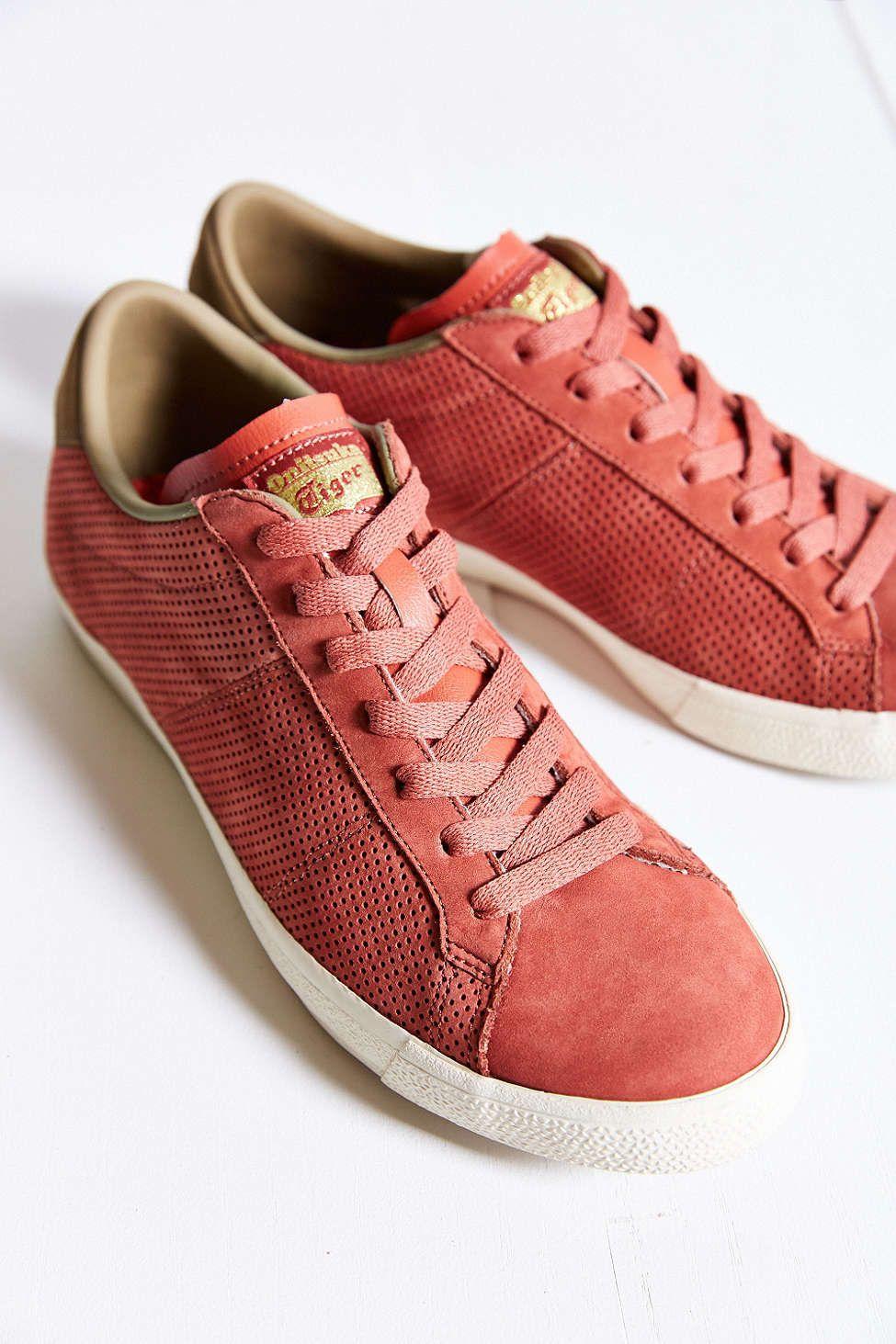 asics onitsuka tiger suede lawnship sneaker