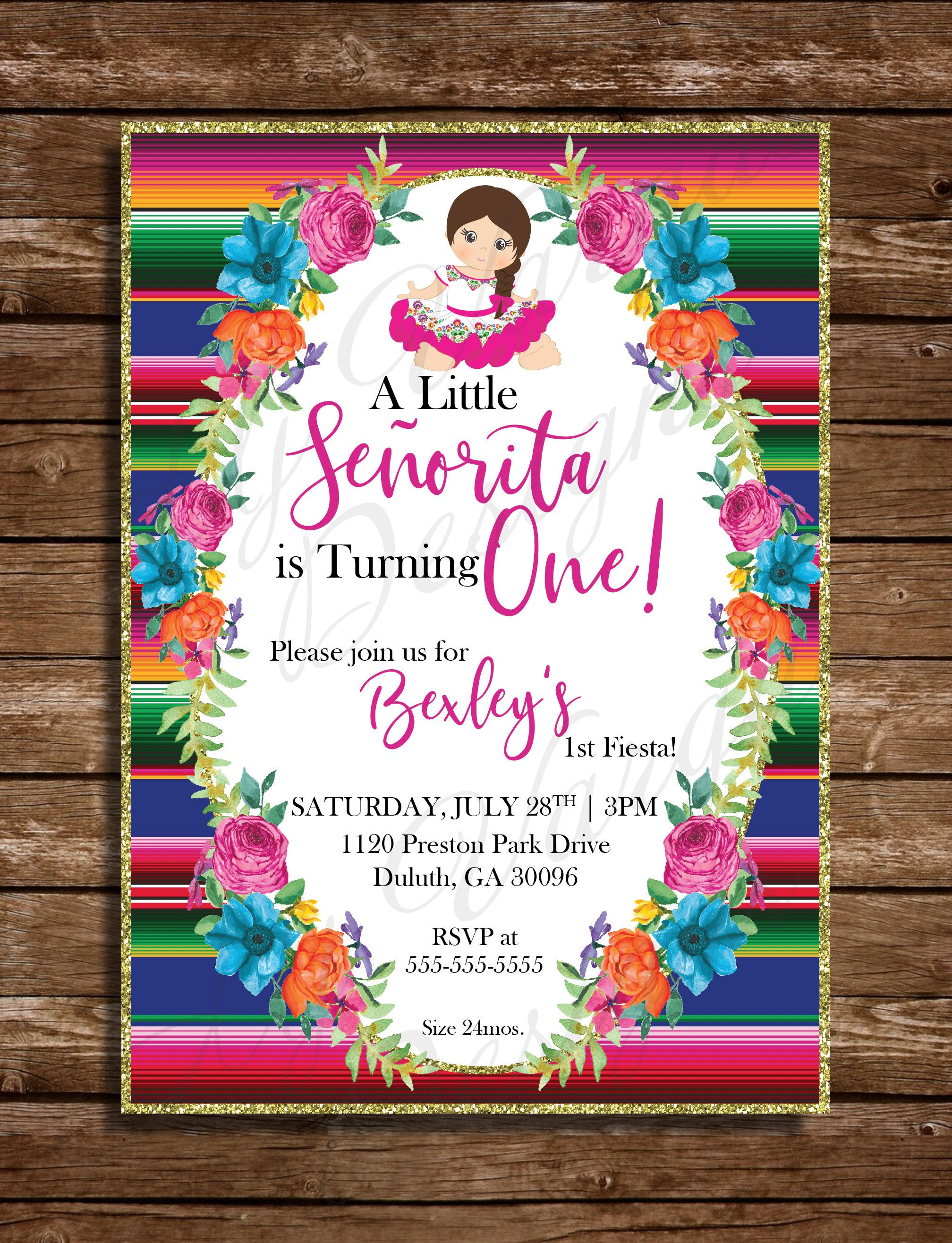 Mexican Birthday Parties Party First Themes