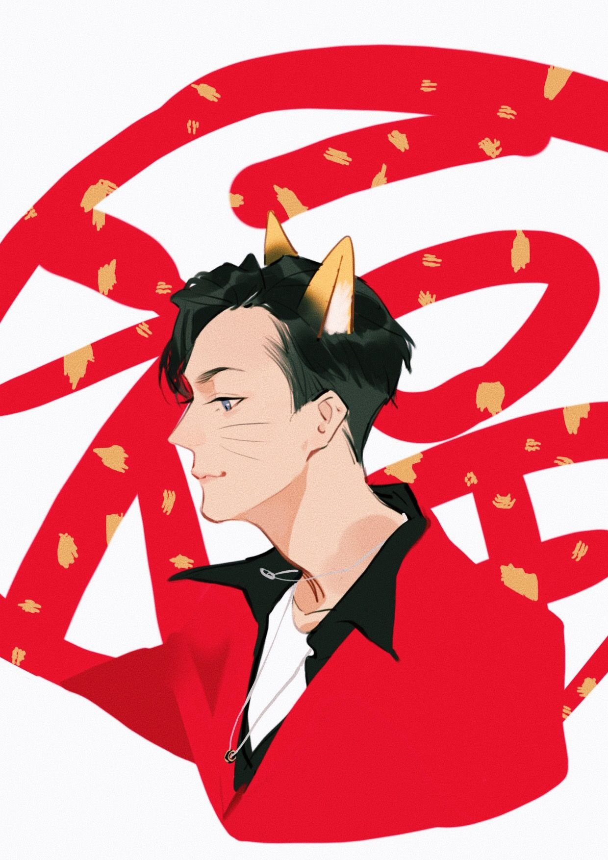 William Chan Q Version Fan Art CCTV Spring Festival Gala