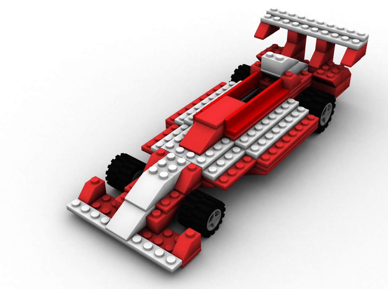 Model Lego Racing Car Lego Racing Car By Molier Lego