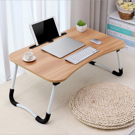 Iuhan Large Bed Tray Foldable Portable Multifunction Laptop Desk Lazy Laptop Table Walmart Com Laptop Table For Bed Portable Laptop Table Bed Tray Table