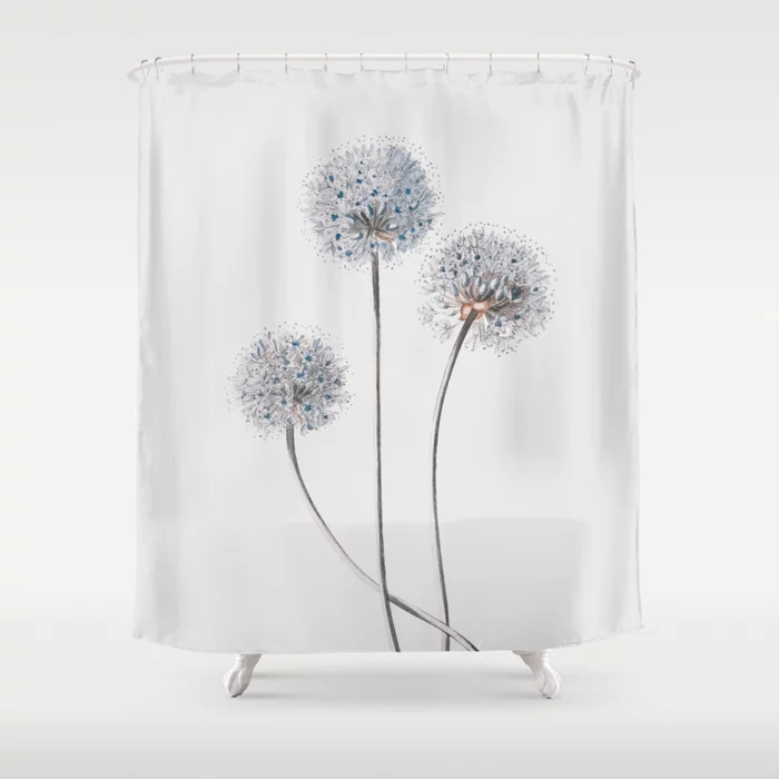 Dandelion 2 Shower Curtain By Andreas12 Society6 Unique Shower Curtain Curtains Shower Curtain