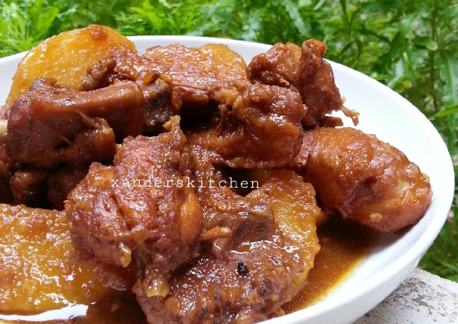 Resep Semur Ayam Kentang Oleh Xander S Kitchen Resep Makanan Resep Makanan Kentang