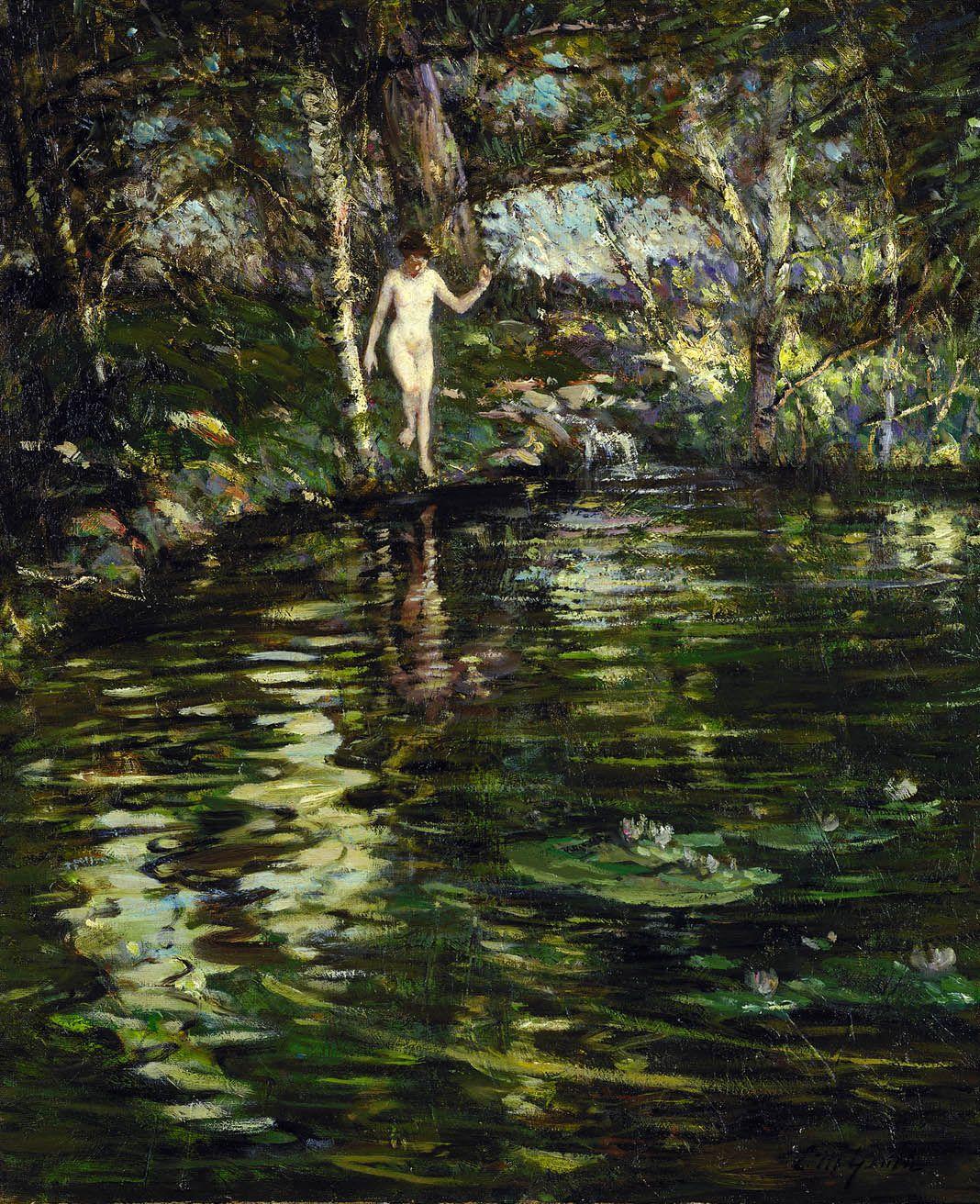Depths of the Woods - Lillian Mathilde Genth ~1910