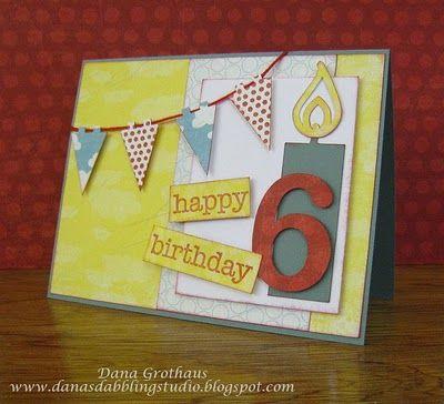 A Fun Birthday Card Handmade Cards Pinterest Cards Kids