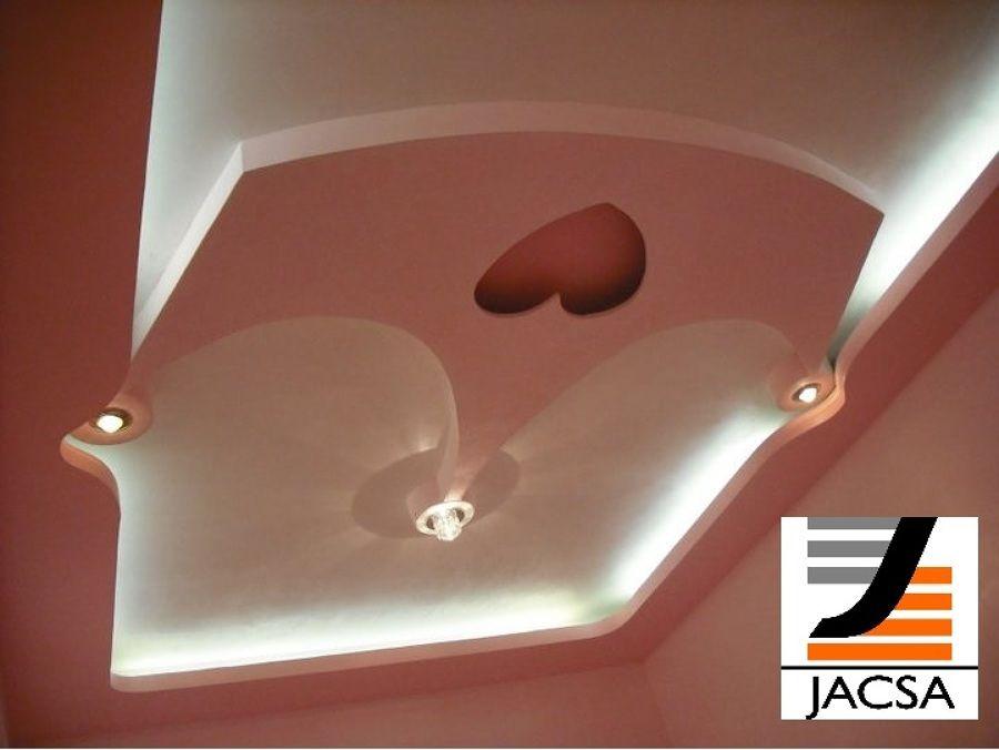Dise o de plafones falsos para recamaras de ni a ideas for Disenos de interiores en tablaroca