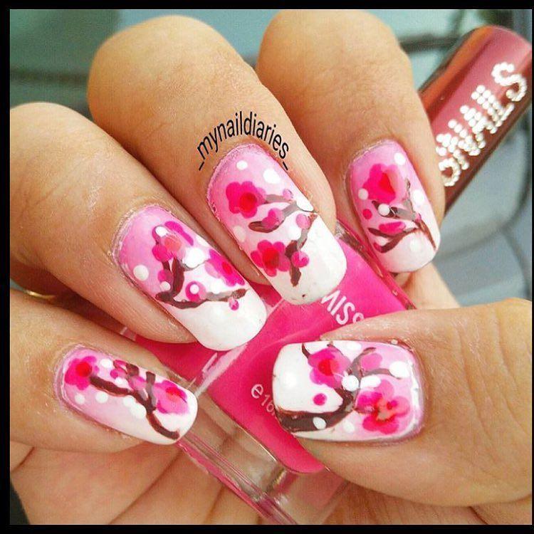 #repost @_mynaildiaries_  Cherry blossom nail art for @7daysnailart #7daysnails april week 3 nail art challenge using @missnailsforyou nail polish  #nailart#nailartwow#repost2day#scra2ch#mynaildIaries#notd#nailjunkie#nailjunkies#nailaddict#nailaddicts#nailgasm#nailartaddict#nailartaddicts#nailartjunkie#nailartjunkies#nailslove#nailover#lovefornails#polishlover#polishaholic#polishjunkie#polishjunkies#polishaddict#polishaddicts#lovenails#nailitdaily#indianlacquerholic#cherryblossomnailart by…