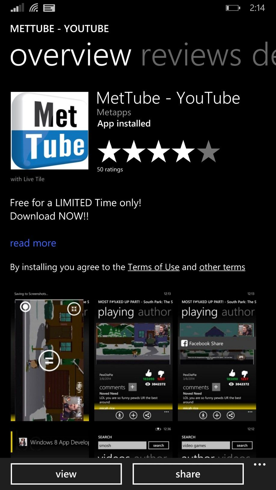 free download youtube app for windows 8.1