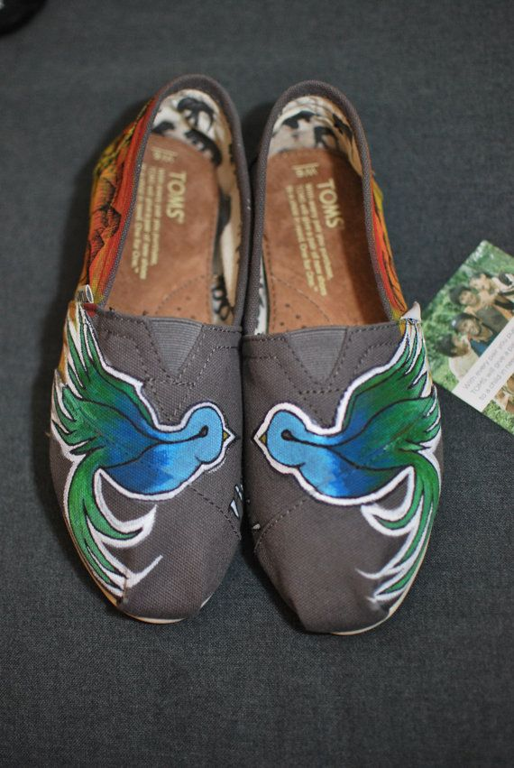 need this!!!  Sparrow by the Beach TOMS by BStreetShoes on Etsy, $149.00