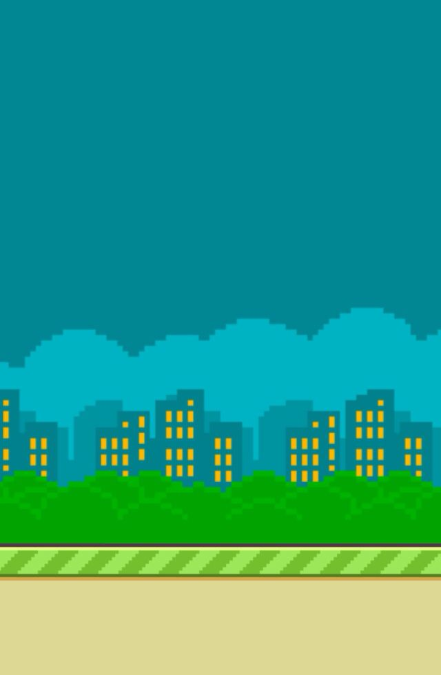 Cute And Cool Wallpapers That Makes You Popular Flappy Bird City Background Makes A Nice Wallpaper