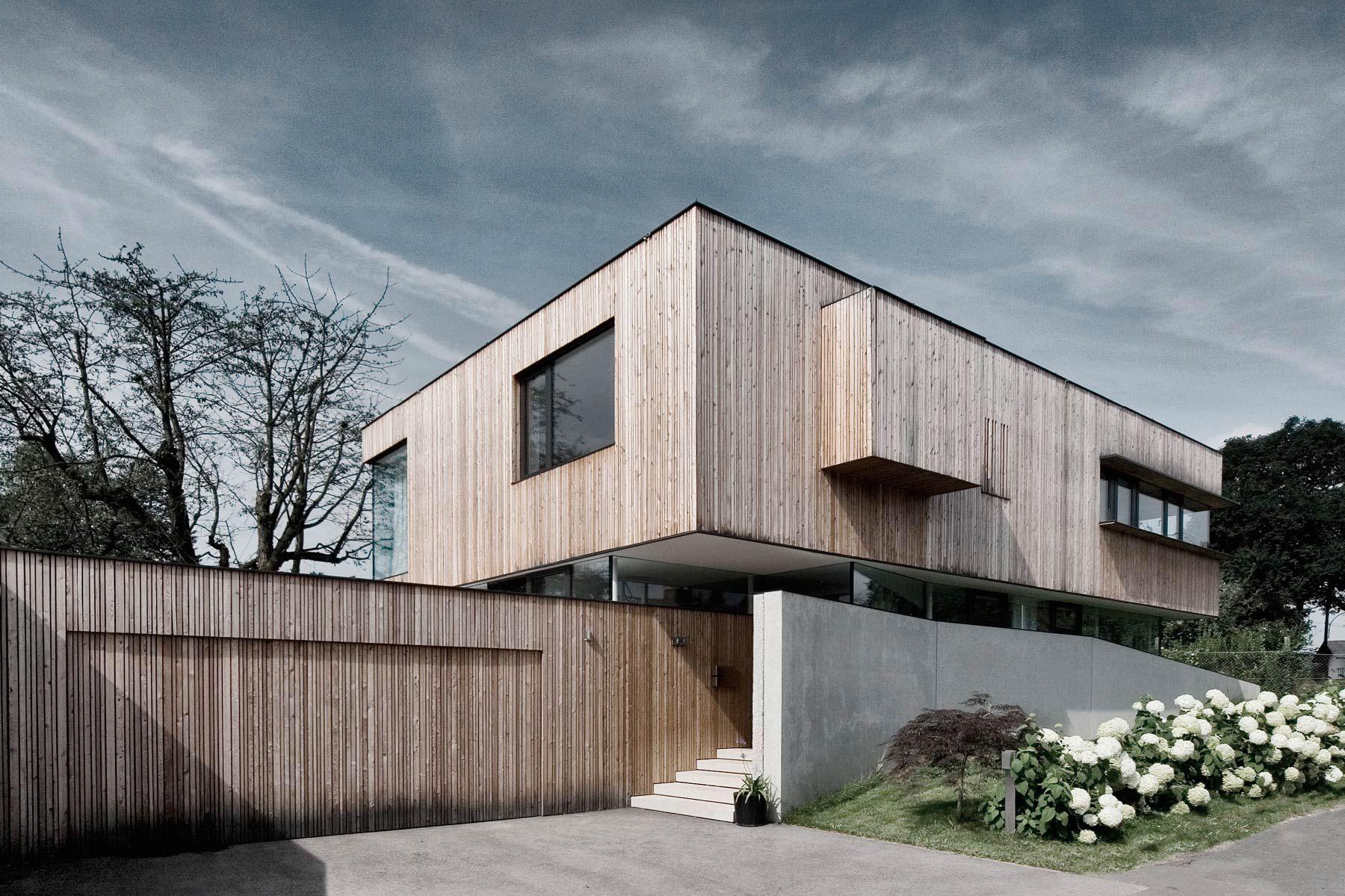 Pin von carl auf Einfamilienhaus | Pinterest | Architektur, Fassaden ...