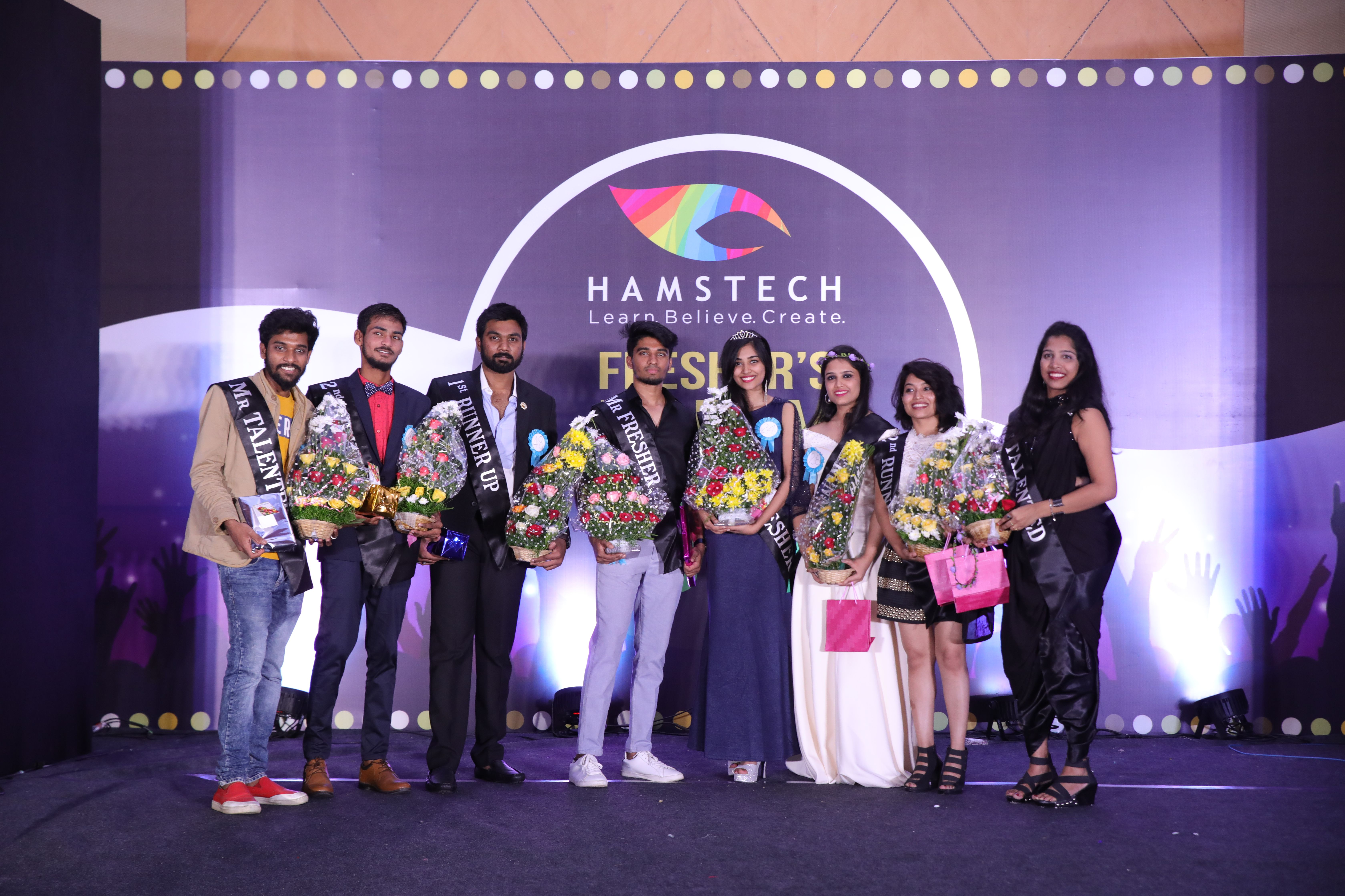 Celebrations In Style And Event Beyond Just A Party This Is How Hamstech Seeds Its Creative Buds Freshers Party Design Style