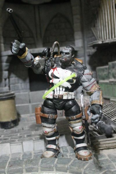 Franken Punishercastle Marvel Legends Custom Action Figure
