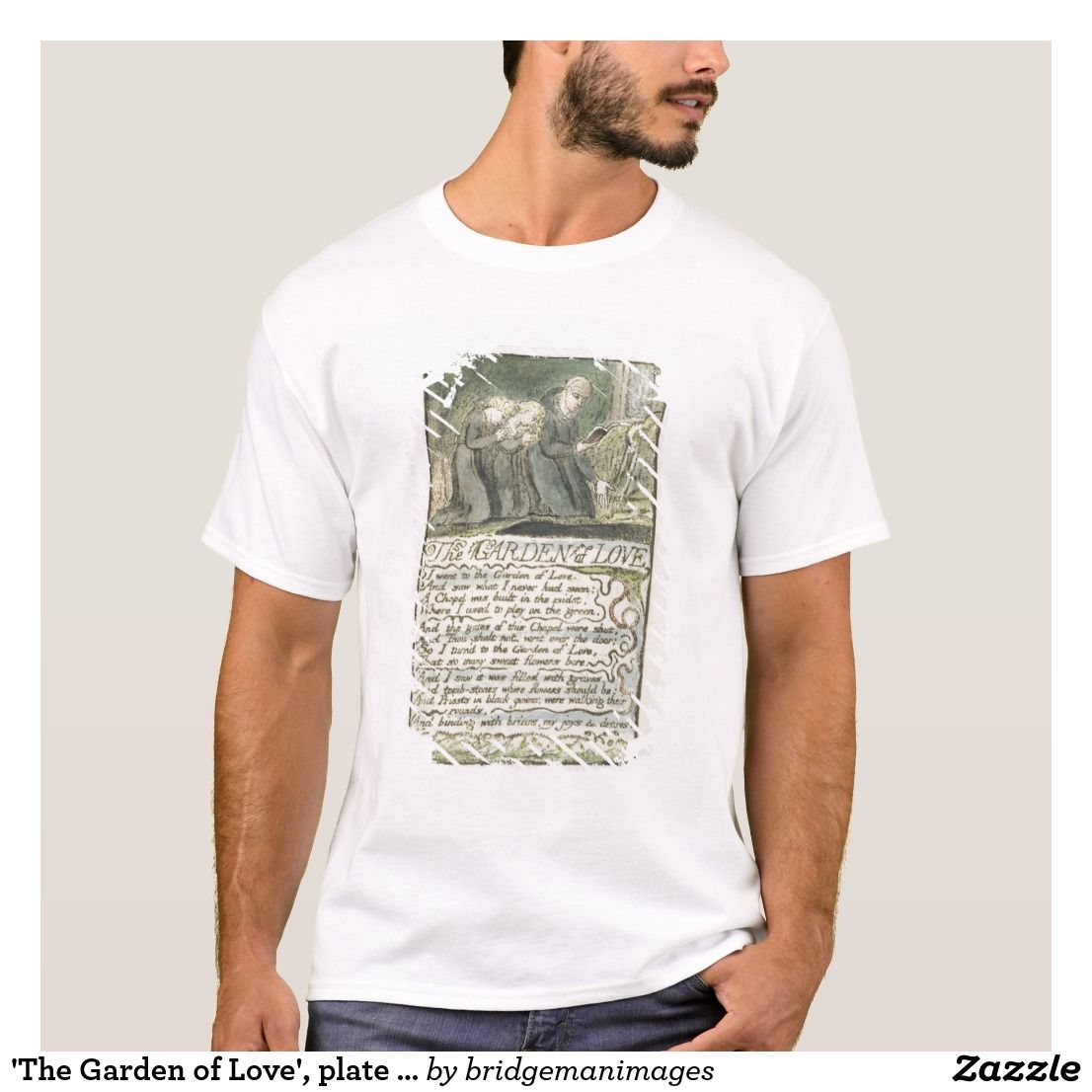 b5770e9a6 The Garden of Love', plate 45 (Bentley 44) from ' T-Shirt | Zazzle ...
