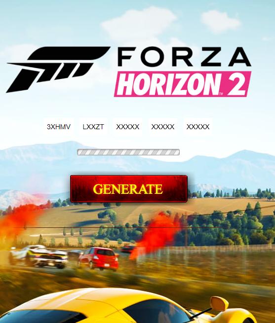 Generator Keys For Forza Horizon 2 Forza Horizon Forza Horizons