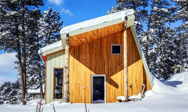 Andrew Michler A Construit Sa Maison Passive Lui Même Et Peut En être Fier