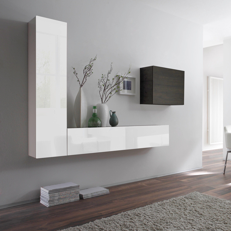 Wohnwand Como VI #wohnaura #möbel #design #einrichten #idee  #inneneinrichtung #
