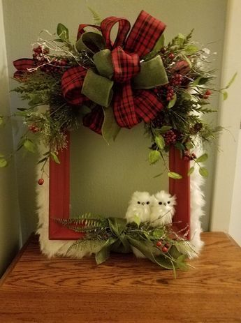Photo of 60 DIY Picture Frame Christmas Wreath Ideas that totally fits your budget – Hike n Dip