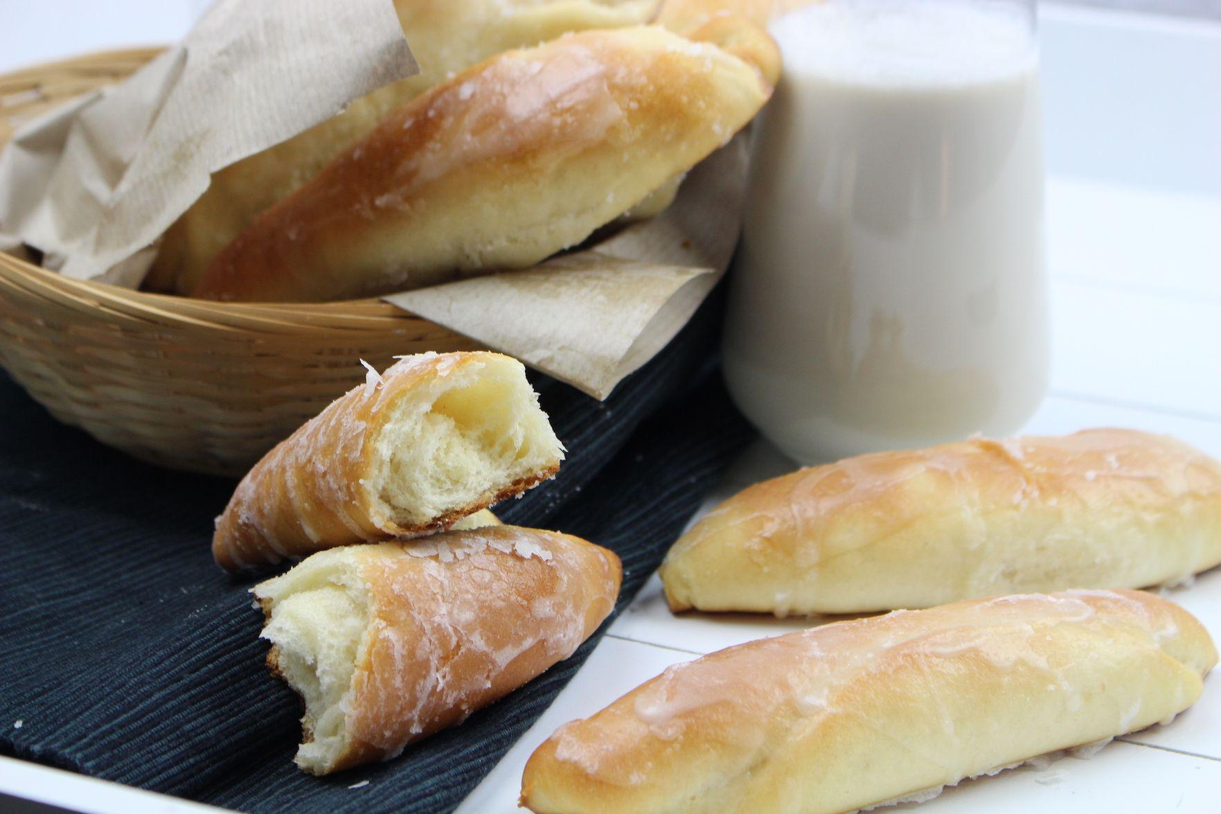Fartons Con Glaseado De Horchata Receta Horchata Bollos Y Sin