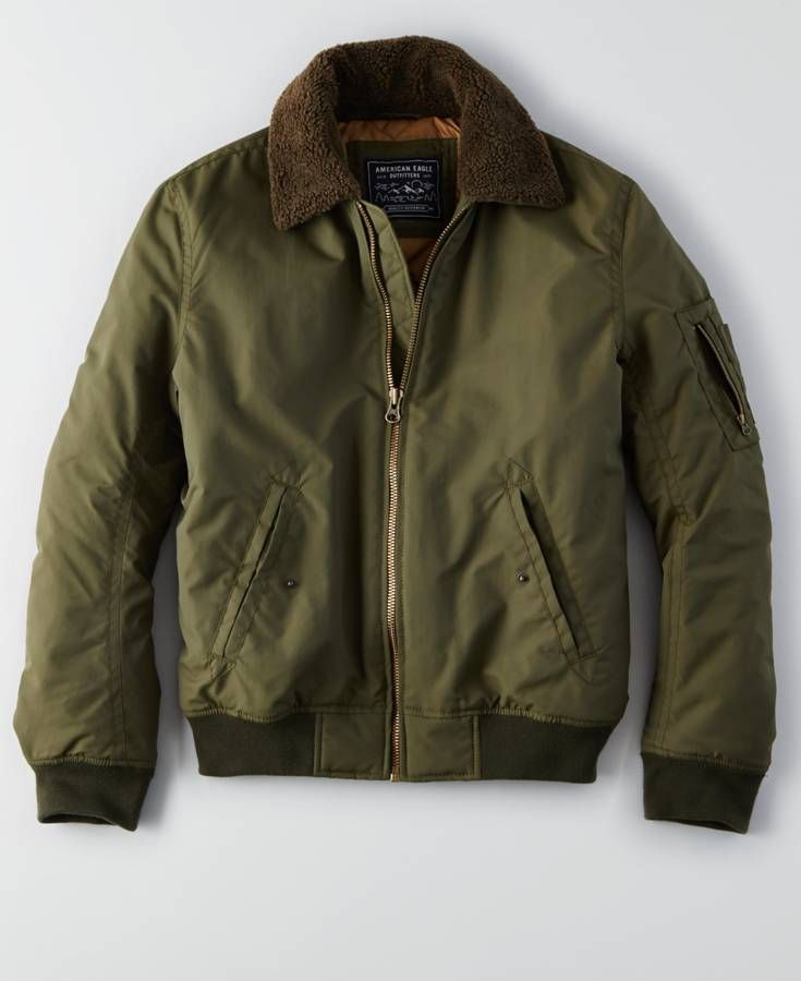 a2b4f0e03b8 AEO Aviator Jacket (Coat)