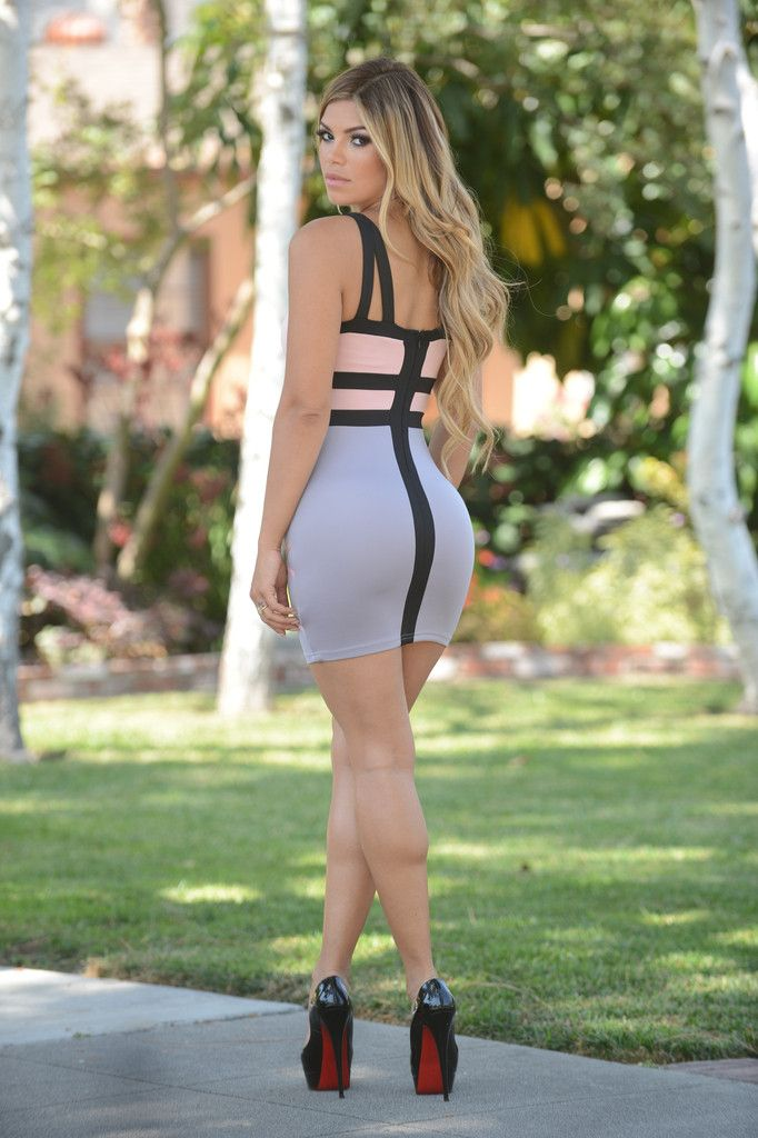 and ass in Great tight dresses legs