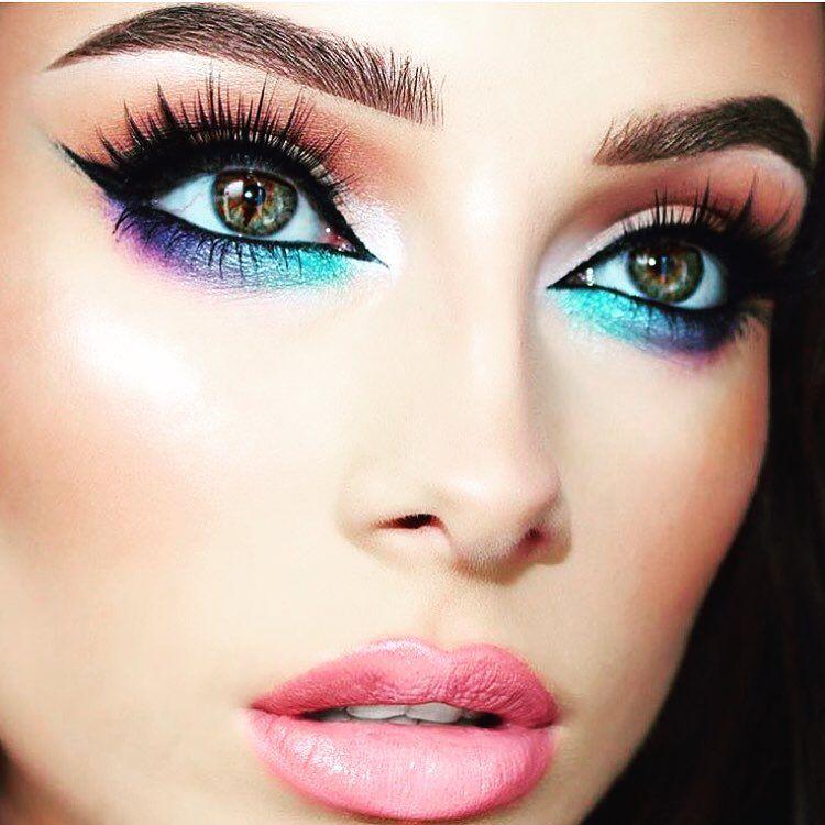Colorful Makeup For Brown Eyes | Beste Makeup