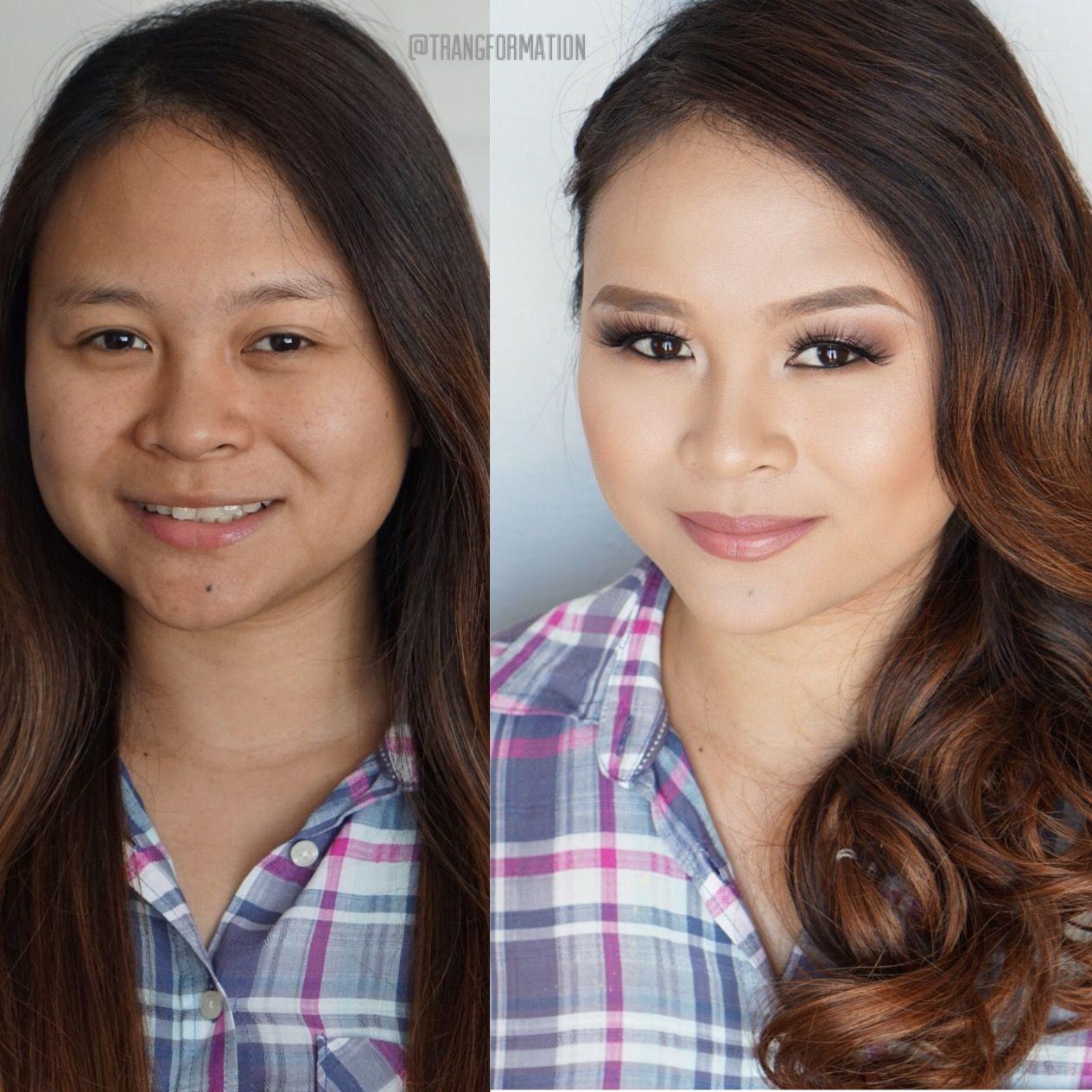 makeup, bridal makeup, natural makeup, before and after, oc